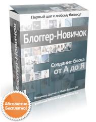 Блоггер-Новичок. Создание профессионального блога от А до Я