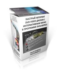 Быстрый авторинг DVD-Video дисков с интерактивным меню в программе DVDLABPRO2