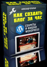 Как создать блог за час? Секреты и фишки Wordpress
